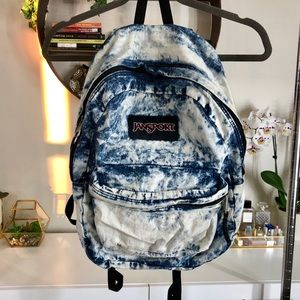 Jansport Bleached Denim Chambray Backpack